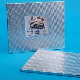 10in Square Cake Drum (12 mm thick)