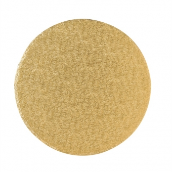 14 in Round Cake Drum Gold (12 mm thick)