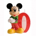 Mickey Birthday Candle No 0