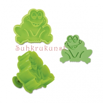 Frog Cookie / Fondant Cutter, 6 cm