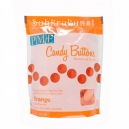 Orange Candy Buttons®: Vanilla Flavoured, 340g