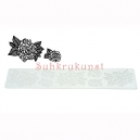 Roses Silicone Mat for Sugar Lace, 40x8 cm
