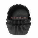 House of Marie Mini Baking Cases Black / 60