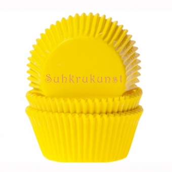 House of Marie Baking Cups Yellow / 50