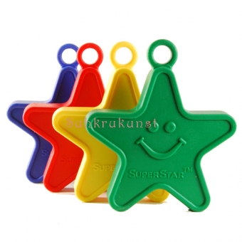 100g Primary Assorted Star-Shaped Weight