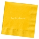 School Bus Yellow Lunch Napkins 2 ply / 20