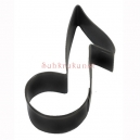 Music Notes Cookie Cutter, 8.9 cm