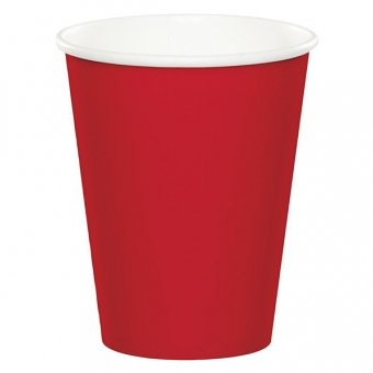 Classic Red Cups / 8