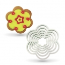 Plastic Flower Cutter Set / 6