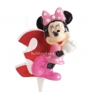 Minnie Birthday Candle No 3