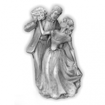 Bride and Groom Plastic Chocolate Mould