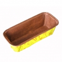 Disposable Mini Loaf Mould Yellow/Orange / 5