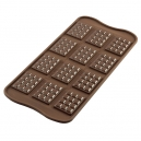 12 cell Mini Tablet / Chocolate Bar Silicone Mould