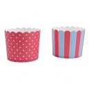 Baking Cups Maxi Red and Light Blue / 12