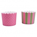 Baking Cups Maxi Pink and Green / 12