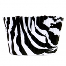 Zebra (black-white) Baking Cups / 50