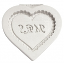 Heart Plaque Mrs Silicone Mould