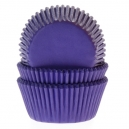 House of Marie Baking Cups Purple / 50