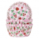 Strawberry Gingham Baking Cases / 50