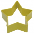 Yellow 5 Point Star Cookie Cutter, 7 cm