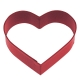 Red Heart Cookie Cutter, 8.3 cm