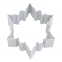 Ice Crystal White Cookie Cutter, 7 cm