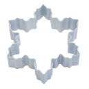 Snowflake White Cookie Cutter, 10 cm