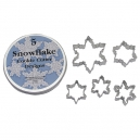 Snowflakes Cutter Set / 5
