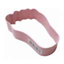 Pink Babys Foot Cookie Cutter, 8.9 cm