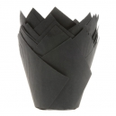 Black Tulip Baking Cups / 25
