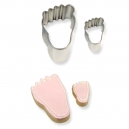 Cookie&Cake Foot Cutter Set / 2