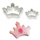 Cookie&Cake Crown Cutter Set / 2